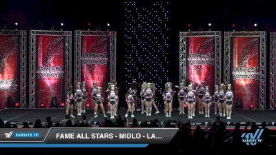 FAME All Stars - Midlo - Lady Crush [2019 Senior - Medium 4 Day 2] 2019 JAMfest Cheer Super Nationals