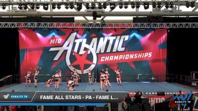 FAME All Stars - PA - Fame Lady Legion [2020 L4.2 Senior - Small Day 2] 2020 Mid-Atlantic Championships