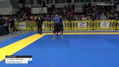 SERGIO GARCIA TREVINO II vs JOHN ALFRED HOLLIMAN JR 2021 Pan IBJJF Jiu-Jitsu No-Gi Championship