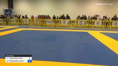 KENNEDY LEONARDO MACIEL vs ORLANDO FERNANDO CASTILLO ANDAVI 2020 IBJJF Pan No-Gi Championship