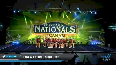 FAME All Stars - Midlo - TNT [2021 L6 International Open - NT Day 2] 2021 Cheer Ltd Nationals at CANAM