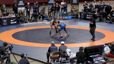 74 kg Final - Logan Massa, New York Athletic Club vs Mekhi Lewis, Titan Mercury Wrestling Club