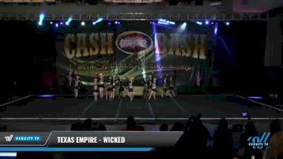 Texas Empire - Wicked [2021 L3 Senior - D2 - Small Day 2] 2021 ACP Cash Bash Championship