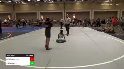 65 lbs 3rd Place - Gavin Whatley, Sunkist Kids/Monster Garage vs Justice Bransen Chung, Elite Wrestling