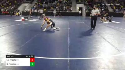 125 lbs Prelims - Alex Friddle, Coe College vs Byron Fleming, Buena Vista University