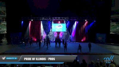 Pride of Illinois - Pros [2021 L2 Junior - D2 - Small Day 1] 2021 The American Gateway DI & DII