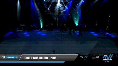 Cheer City United - ZEUS [2021 L3 Junior - D2 - Small Day 1] 2021 The U.S. Finals: Pensacola