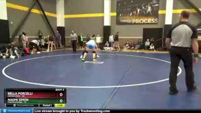 170 lbs Round 3 (3 Team) - Bella Porcelli, Grand View vs Naomi Simon, FEWTeamIowa
