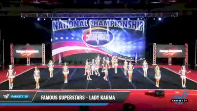 Famous Superstars - Lady Karma [2021 L4 Senior - D2 Day 2] 2021 ACP: Midwest World Bid National Championship