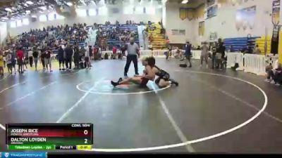 170 lbs Cons. Semi - Joseph Rice, Monsta Wrestling vs Dalton Loyden, Arizona