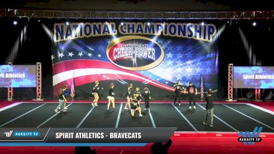 Spirit Athletics - BraveCats [2021 CheerABILITIES Day 1] 2021 ACP: Midwest World Bid National Championship
