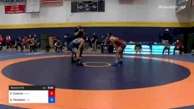 74 kg Round Of 16 - Carlos Cuevas, Texas vs Alec Pantaleo, Titan Mercury Wrestling Club (TMWC)
