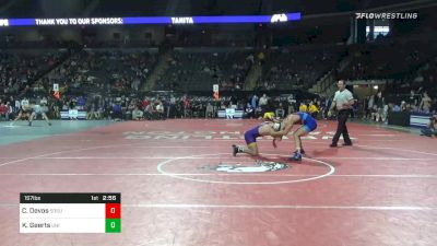 157 lbs Consolation - Cade Devos, South Dakota State vs Keaton Geerts, Northern Iowa