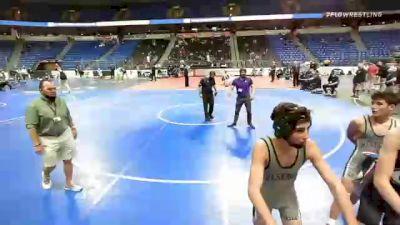 113 lbs 7th Place - Tyson Sherlock, Maryland vs T.j. Langley, Pennsylvania