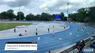 High School Girls' 4x400m Relay Class A, Finals 3