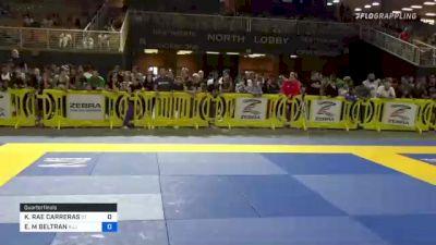 KAILANI RAE CARRERAS vs EMILY M BELTRAN 2021 Pan Kids Jiu-Jitsu IBJJF Championship