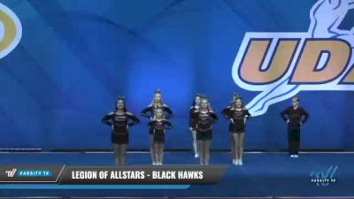 Legion of Allstars - Black Hawks [2020 L5 Junior Day 2] 2020 UCA Smoky Mountain Championship