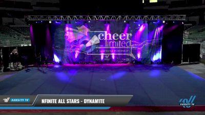 NFINITE All Stars - DYNAM1TE [2021 L1 Junior - Small] 2021 Cheer Ltd Open Championship: Trenton
