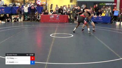57 kg Quarterfinal - Rayvon Foley, Michigan State vs Ty Smith, Team Nevada