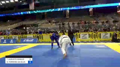 GABRIEL FERREIRA DA SILVA vs THIAGO AUGUSTO ARAUJO MACEDO 2020 Pan Jiu-Jitsu IBJJF Championship