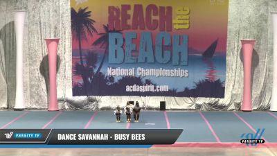 Dance Savannah - Busy Bees [2021 Tiny - Jazz] 2021 Reach the Beach Daytona National