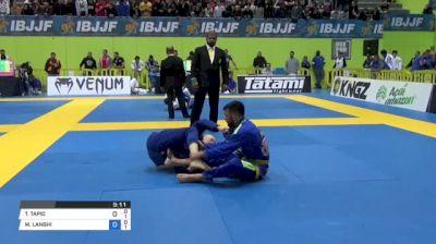 TOMMI TAPIO vs MICHAEL LANGHI 2018 European Jiu-Jitsu IBJJF Championship
