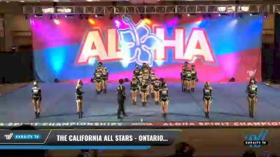 The California All Stars - Ontario - Smoke [2021 L3 Junior - Medium Day 2] 2021 Aloha DI & DII Championships