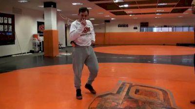 John Smith - Finishing the Low Single When His Leg is Heavy