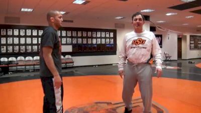 John Smith - Finishing the Low Single When Opponent Goes to Crotch Lift