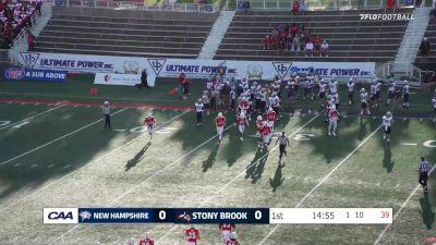Replay: UNH vs Stony Brook | Sep 2 @ 6 PM