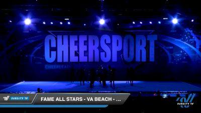 FAME All Stars - VA Beach - CULTURE [2020 Senior Coed Small 5 Day 1] 2020 CHEERSPORT National Cheerleading Championship