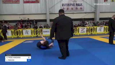 SOPHIA ROSE MAGANA vs IZABELLA FREZZO 2021 Pan IBJJF Jiu-Jitsu No-Gi Championship