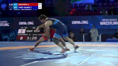 86 kg Quarterfinal - Artur Naifonov, Russia vs Taimuraz Friev Naskidaeva, Spain