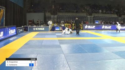 Daniel Augustus vs Claudio Calasans 2019 Pan Jiu-Jitsu IBJJF Championship