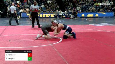 149 lbs Round Of 32 - Dusty Hone, Oklahoma St vs Brady Berge, Penn State