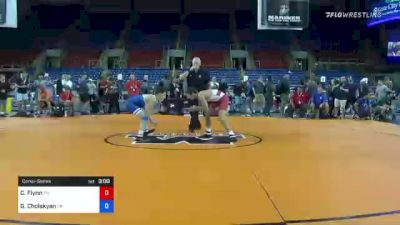 120 lbs Consolation - Cooper Flynn, Tennessee vs Grigor Cholakyan, California