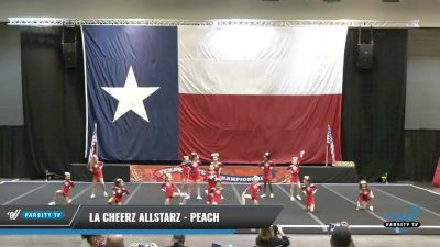 LA Cheerz Allstarz - Peach [2021 L1 Youth - D2 - Small Day 1] 2021 ACP Power Dance Nationals & TX State Championship