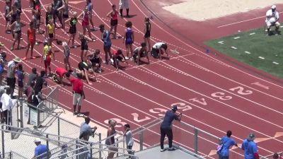 Boys' 100m Hurdles, Heat 2
