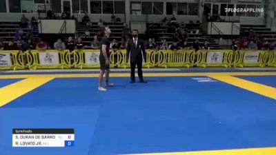 SILVIO DURAN DE BARROS SARAIVA vs RAFAEL LOVATO JR. 2021 Pan IBJJF Jiu-Jitsu No-Gi Championship