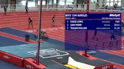High School Boys' 55m Hurdles, Finals 2