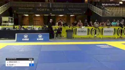 JAMIE GRAHAM vs SAMANTHA CLAY 2021 Pan Jiu-Jitsu IBJJF Championship