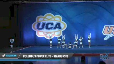 Columbus Power Elite - Starbursts [2020 L4 Senior - Small - D2 Day 2] 2020 UCA Smoky Mountain Championship