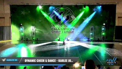 Dynamic Cheer & Dance - Karlee Jones [2021 Junior - Solo - Jazz Day 1] 2021 CSG Dance Nationals