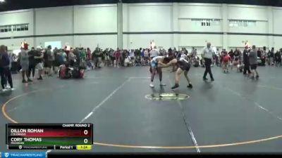 135 lbs Champ. Round 2 - Dillon Roman, Colorado vs Cory Thomas, Michigan
