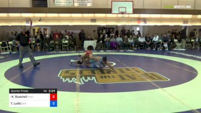 70kg Quarterfinal - Kyle Ruschell, NYAC vs Ty Lydic, Griffin WC