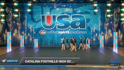 Catalina Foothills High School [2020 Medium Varsity Jazz (8-11) Day 3] 2020 USA Spirit Nationals