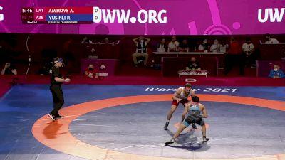 79 kg 3rd Place - Alans Amirovs, LAT vs Rashad Usifli, AZE