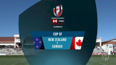 New Zealand 7s vs Canada 7s Cup Semi Final | 2018 HSBC Women's 7s Colorado