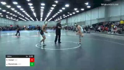 138 lbs Final - Christian Kaiser, Raw vs John Mcnichols, Team Kombat