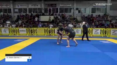 David Salem Garmo vs Jefferson Guaresi 2021 Pan IBJJF Jiu-Jitsu No-Gi Championship